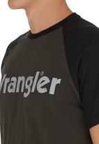 Wrangler - Straight Forward T-shirt Black