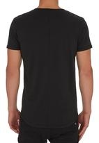 S.P.C.C. - Embroidery T-shirt Black