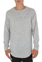 STYLE REPUBLIC - Long-sleeve T-shirt Grey