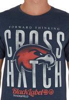 Crosshatch - Dyton T-shirt Dark Blue Dark Blue