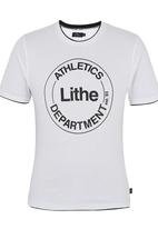 Lithe - Athletic T-shirt Printed White