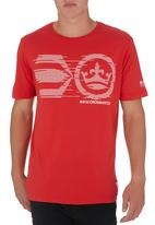Crosshatch - Orlandas T-shirt Red