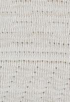 Rebel Republic - Textured Knit Dress Cream