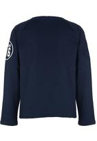 Rebel Republic - Baseball Sweater Navy