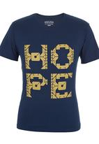 466/64 - Hope T-shirt Dark Blue Dark Blue