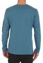 Quiksilver - Mountain Wave T-shirt Mid Blue Mid Blue