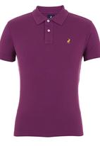POLO - Classic Golfer Mid Purple Mid Purple