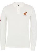 POLO - Long-sleeve Golfer White