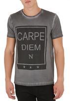STYLE REPUBLIC - Carpe Diem tee Pale Grey
