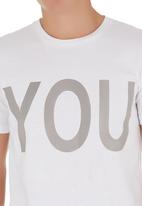 STYLE REPUBLIC - You print tee White