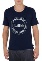 Lithe - Athletic T-shirt Navy