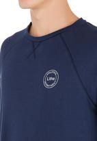Lithe - Awesome Creative Agency - Long sleeve top with thumb inset Navy