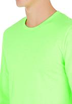 Lithe - Awesome Creative Agency - Neon long sleeve tee Yellow