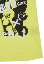 Twin Clothing. - Rebel Top Yellow