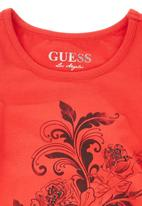 GUESS - Floral tank Red