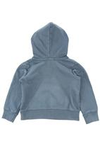 Sticky Fudge - Pull-over hoodie with logo Navy