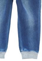 GUESS - Boys Denim Joggers Blue