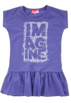 Twin Clothing. - Imagine Top Dark Purple