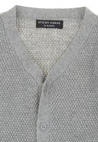 Sticky Fudge - Long-sleeve Knit Jersey Grey