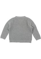 Sticky Fudge - Long-sleeve knitted jersey