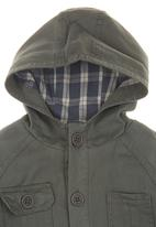 Sticky Fudge - Jacket with contrast lining Green