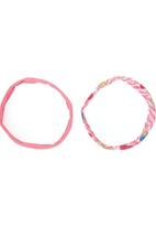 Character Fashion - Hello Kitty 2-pack Headbands Pale Pink Pale Pink