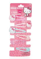 Character Fashion - Hello Kitty Clips Pale Pink Pale Pink