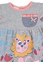 Hooligans - Polka Dot Lion Dress Multi-colour