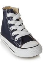 SOVIET - Vulcanised High-cut Sneakers Navy