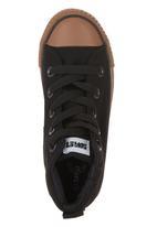SOVIET - Vulcanised High-cut Sneakers Black