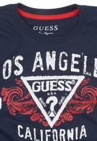 GUESS - Los Angeles Guess T-shirt Navy