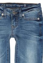 GUESS - Light-wash Starlet Skinny Jeans Mid Blue