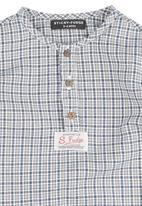 Sticky Fudge - Benjamin shirt in white check