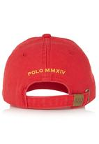 POLO - Peak Cap Red