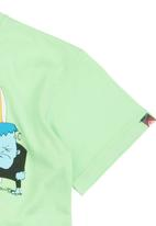 Quiksilver - Surf Monsters T-shirt Green
