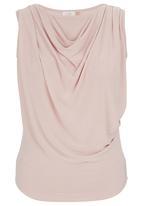 edit - Cowl Cami Pale Pink
