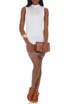 Spree Designer - High Neck Top White
