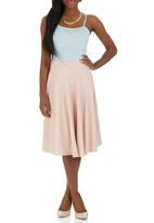 STYLE REPUBLIC - Midi Skirt Pale Pink