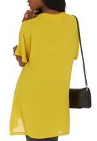 AMANDA LAIRD CHERRY - Inverno Tunic Chartreuse