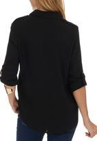 c(inch) - utility shirt Black