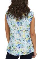 KARMA - Floral Blouse Multi-colour
