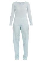 edge - Sleepwear set Blue (pale blue)
