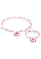 Character Fashion - Hello Kitty 2-piece Jewellery Set Mid Pink Mid Pink