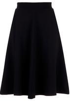 Next - Textured midi skirt in black Black