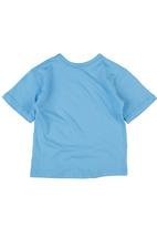 Ice Age - Short-sleeve Mammoth Top Pale Blue Pale Blue