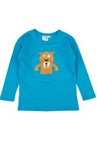 Ice Age - Tiger Long-sleeve Top Turquoise