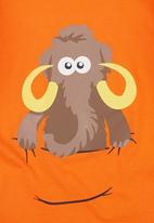 Ice Age - Mammoth Long-sleeve Top Orange