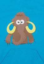 Ice Age - Mammoth Hoodie Turquoise