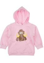 Ice Age - Mammoth Hoodie Pale Pink Pale Pink