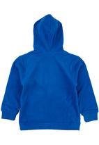 POP CANDY - Fleece Hoodie Mid Blue  Mid Blue